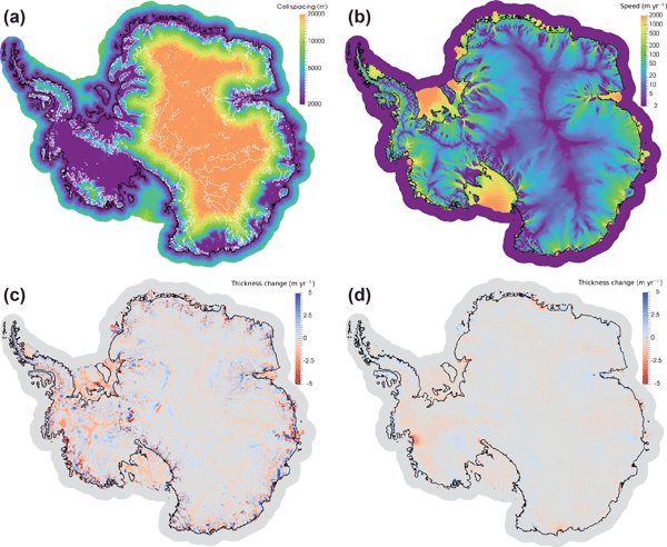 GMD - MPAS-Albany Land Ice (MALI): a variable-resolution ice sheet