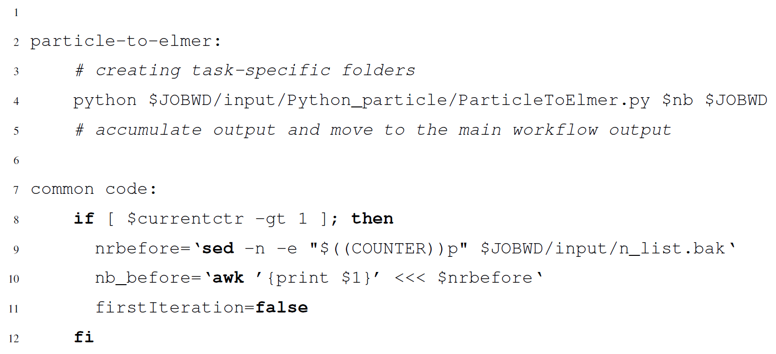 GMD - Scientific workflows applied to the coupling of a