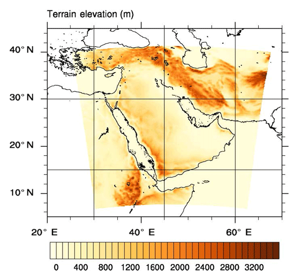 GMD - Development of a dynamic dust source map for NMME